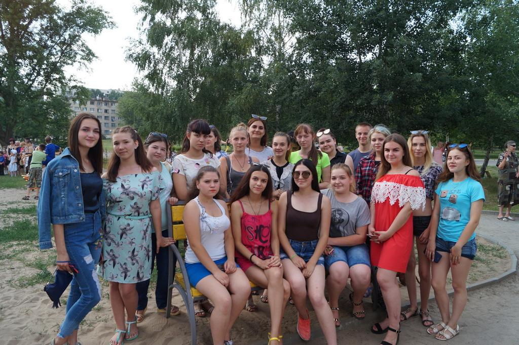 Участь у святкових заходах, присвячених 95-річчю Куп'янського району