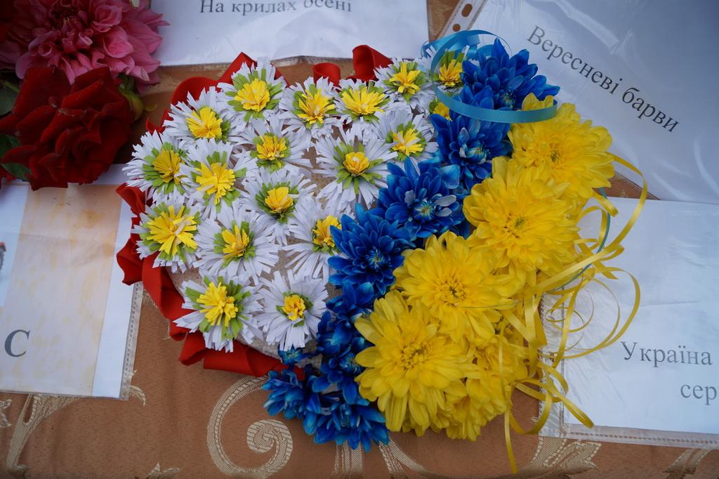 """Виставка квітів та композицій """"Рідний край – Куп'янщина"""""""