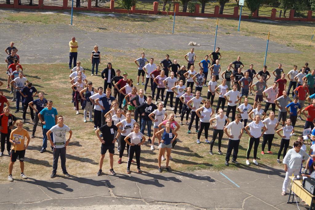 Результати І етапу учнівської Спартакіади