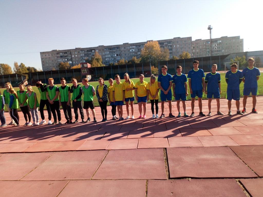 Наша команда – чемпіон Куп'янська з легкої атлетики