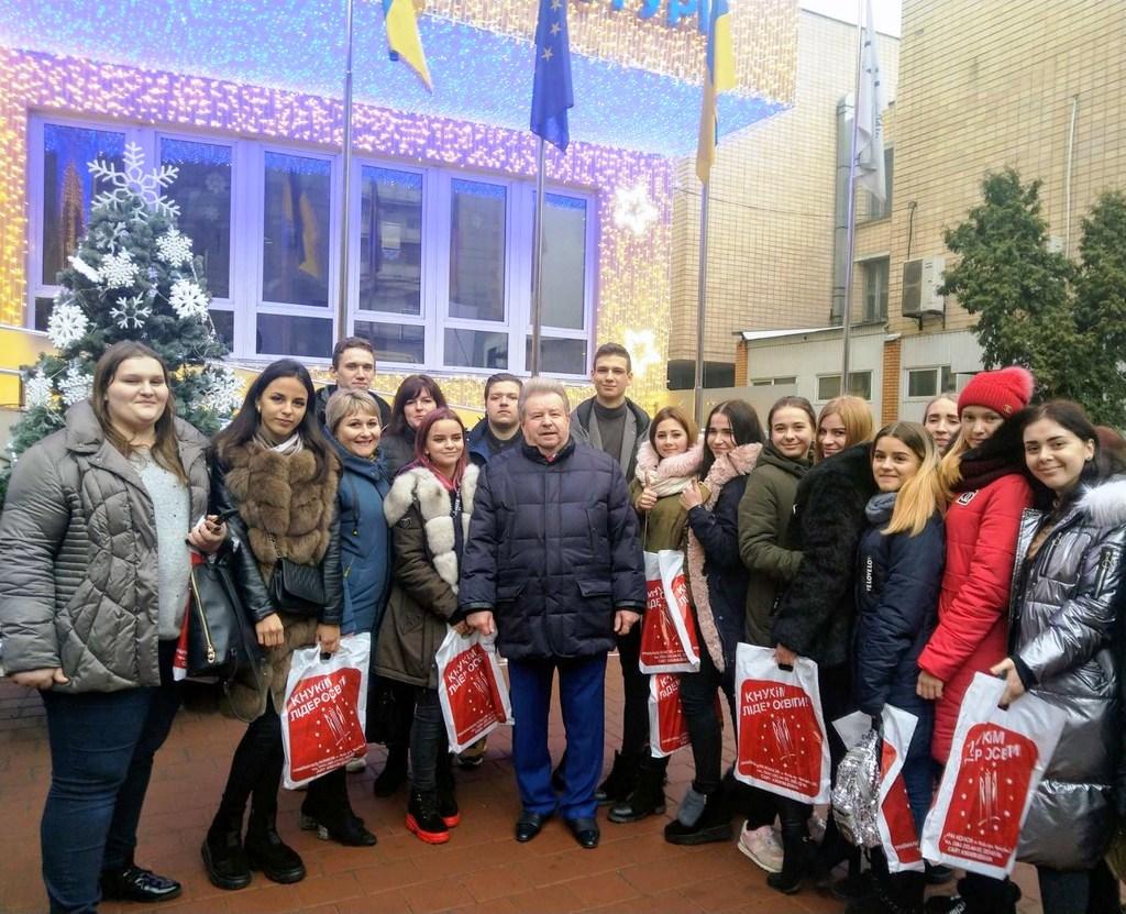 Наші учні в Київському національному університеті культури і мистецтв